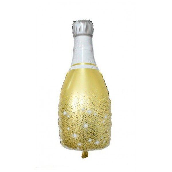 Globo mylar botella champan 49x98cm