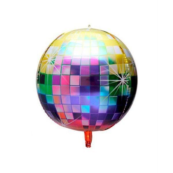 Globo mylar 4D colores 62.4cm
