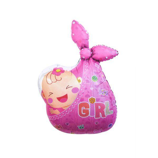 Globo Foil Girl 53*85Cm