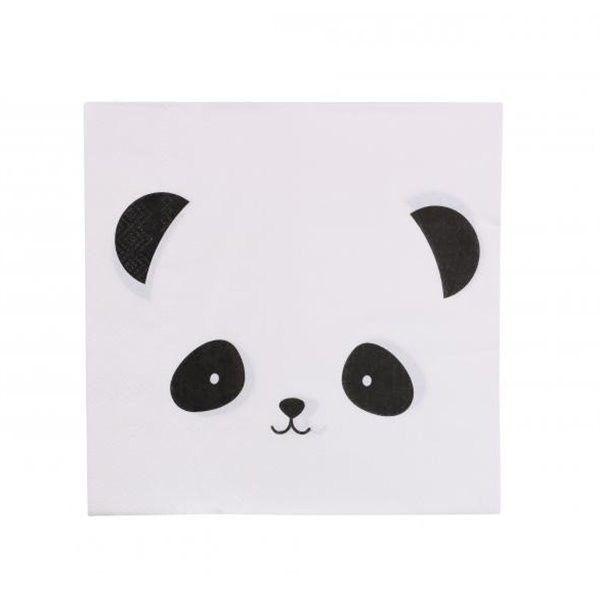 Servilleta de papel Panda 15pcs