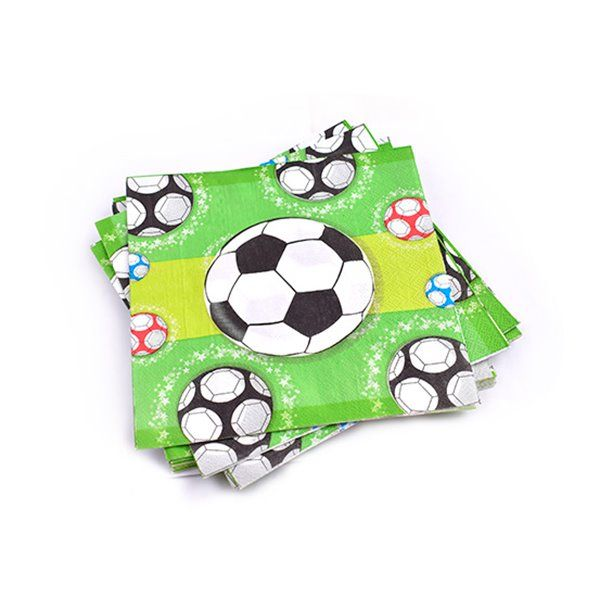 Servilletas de papel 12pcs fútbol