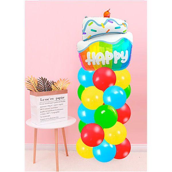 Set de globos multicolor