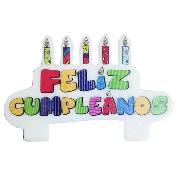 Vela Feliz cumpleaños