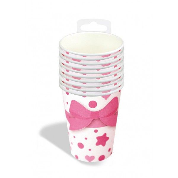 VASOS A BEAUTIFUL GIRL 10PCS