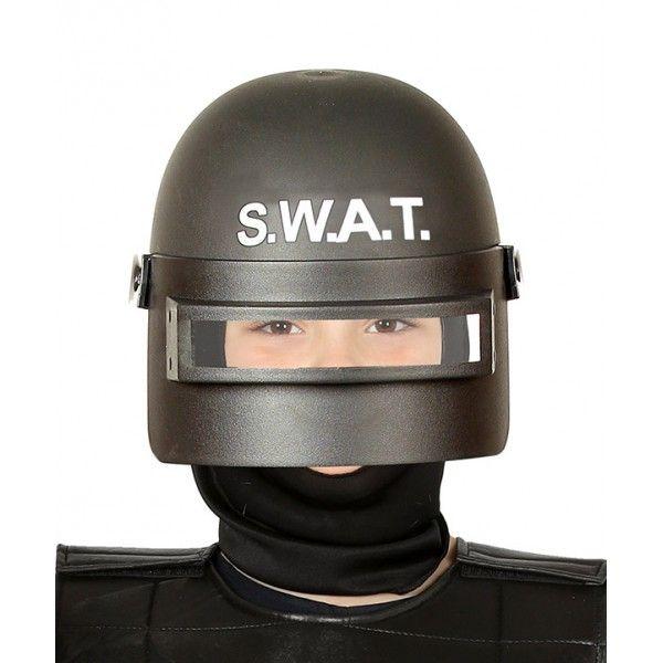 CASCO SWAT ANTIDISTURBIO INFANTIL