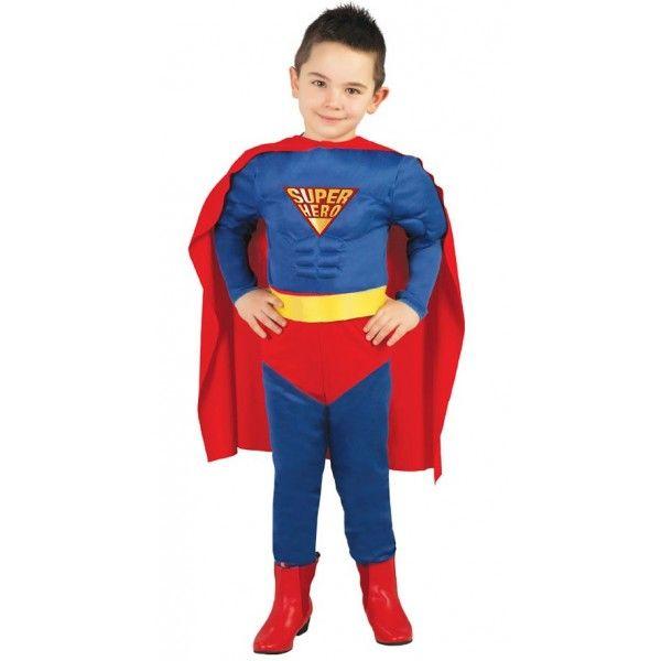 DISFRAZ DE MUSCLE HERO INFANTIL