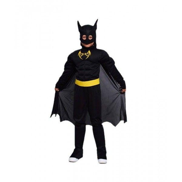 DISFRAZ BLACK BAT NIÑO