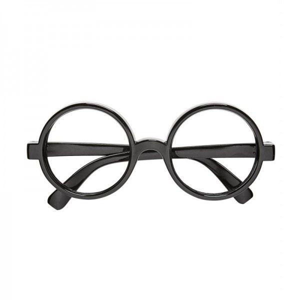 Gafas Harry potter negro redondo