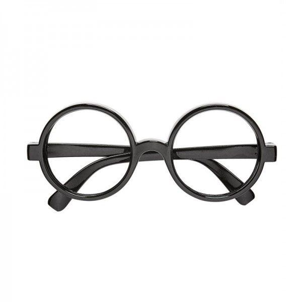 Gafas Harry potter negro redondo