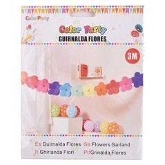 GUIRNALDA DE FLORES 3M