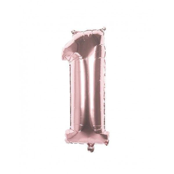 GLOBO FOIL 1 ROSA ORO 110cm