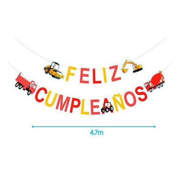 GUITNALDA FELIZ CUMPLEAÑOS 19PCS 4.7M