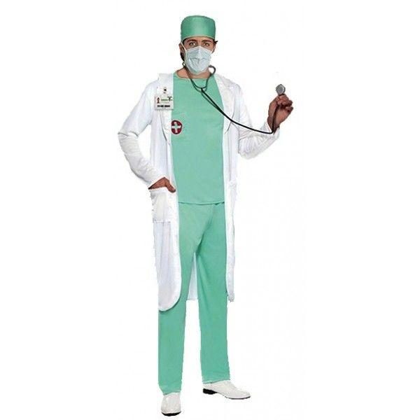 DISFRAZ DE DOCTOR ADULTO