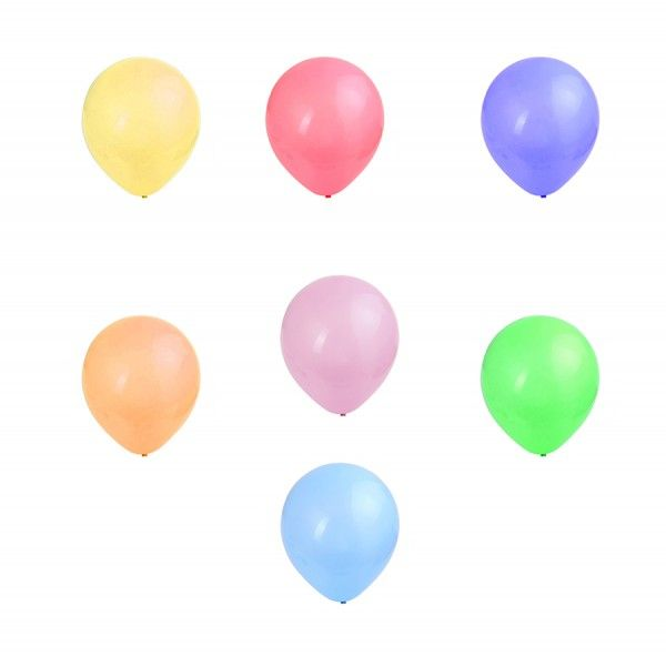 GLOBOS 25PCS COLOR SURTIDO