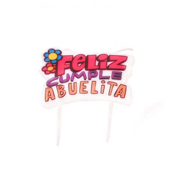 VELA DE FELIZ CUMPLE ABUELITA