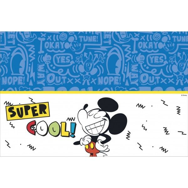 MANTEL DE PLASTICO MICKEY SUPER COOL 120X180CM