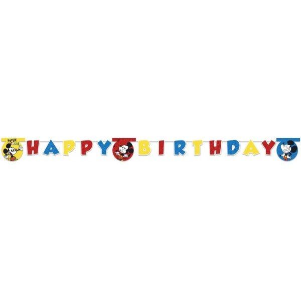 GUIRNALDA HAPPY BIRTHDAY MICKEY SUPER COOL