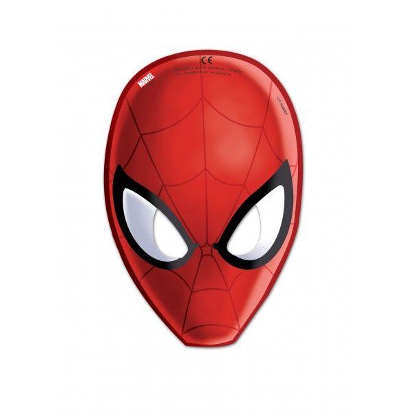 6 MáSCARA DE ULTIMATE SPIDERMAN WEB WARRIORS