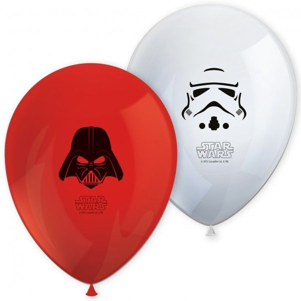 8 GLOBOS DE STAR WARS