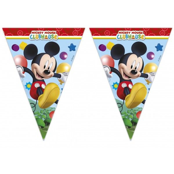 BANDERIN DE  PLAYFUL MICKEY