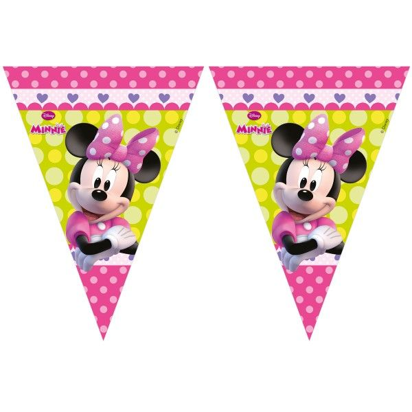 BANDERIN DE MINNIE HAPPY HELPERS