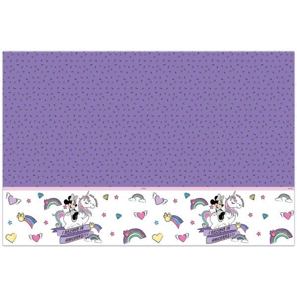 MANTEL DE MINNIE UNICORN 120X180CM