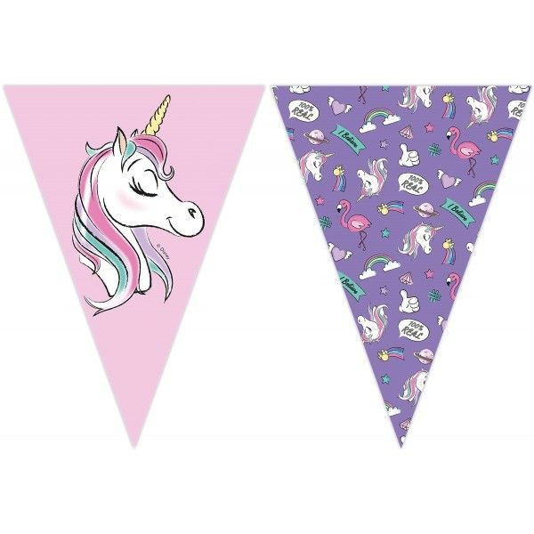 BANDERIN DE MINNIE UNICORN